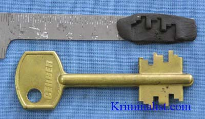 Как правильно сделать ключ 610